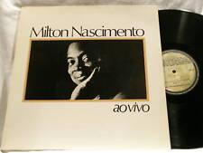 MILTON NASCIMENTO Ao Vivo Brazilian Barclay LP