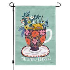 Have a Cup of Roar Coffee Tea Caffeine Garden Yard Flag