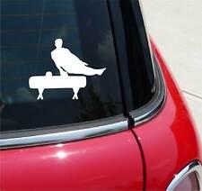 POMMEL HORSE GYMNAST GYMNASTICS GRAPHIC DECAL STICKER ART CAR WALL DECOR