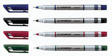 STABILO Sensore Fineliner Ultra Fine Line marker-confezione da 10
