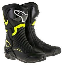 Alpinestars smx6-v2 Nero/Giallo Fluo Moto Street/Stivali sportivi