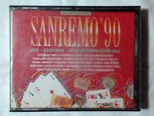 SANREMO 90 2MC CASSETTE K7 CATERINA CASELLI PEPPINO DI CAPRI MILVA PAOLA TURCI