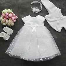 Taufkleid Festkleid Taufgewand Kleid Taufe Hochzeit  Babykleid Nr.0AR18