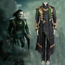 Thor 2: Dark World Avengers Loki Laufeyson/Odinson Outfit Cosplay Costume Coat