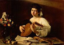 Caravaggio Fine Art Poster Print Cupid Victorious