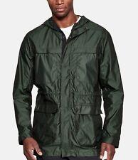 Under Armour Men's Artillery Green UA Sportstyle Elite Parka Hooded Jacket $180