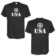États-unis Allied star -- Noir funshirt, amusante, sorts de grandes tailles (bl111)