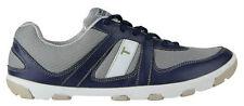 NEW! True Linkswear Sensei Mens Golf Shoes - SE Gray & Blue - RARE HTF - Moore
