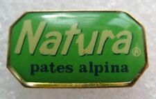 Pin's Alimentaire NATURA Pâtes Alpina #321