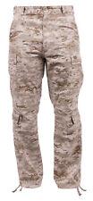 Military Vintage Style Cargo Pants Fatigues Desert Digital Camo Rothco 23366
