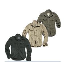 Surplus 1/1 Raw Vintage Hombre CAMISETA Camisa manga larga Ejército Militar