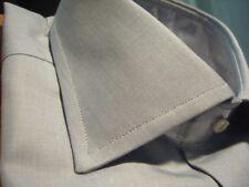 Camisa hombre Bagariny gris fil a fil slim fit