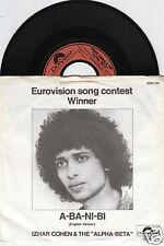 Eurovision 1978 IZHAR COHEN & ALPHA-BETA A-Ba-Ni-Bi 45