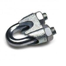 Eiform Drahtseilklemme 6 mm Drahtseil Edelstahl V4A Seil-Niroklemme Eiklemme VA