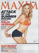 Maxim Magazine May 2012 Malin Akerman California Bigfoot Katy Perry Jennifer Law