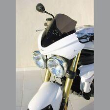Saute vent tête de fourche avec Bulle Ermax  Speed Triple 1050 05/10 Brut