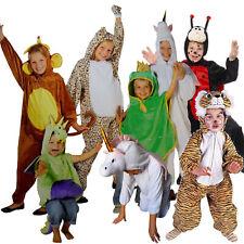 Karneval Kinder Kostüm Tiger Einhorn Affe Marienkäfer Biene Frosch Drache Dino