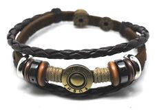 TIBET SERIE ! Leder Armband Bracelet Leather Unisex!Surferarmband Herren Damen