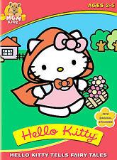 Hello Kitty Tells Fairy Tales DVD, Elizabeth Hanna, Catherine Gallant, Paul De L