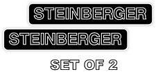 STEINBERGER set of 2 Vinyl Sticker Decal *SIZES*  Bumper Wall