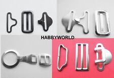 Bow Tie Fastener Clip Hook Cravat Fasteners For Necktie Strap 3 Pcs Set