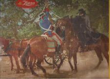 Walt Disney ZORRO Guy Williams TV series (1958) Jaymar frame-tray puzzle HORSES