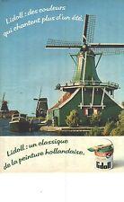 PUBLICITE 1979   LIDOLL un classique de la peinture Hollandaise