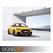 2017 AUDI TT RS Roadster (9001) cartel de auto-foto arte cartel impresión * Todos los Tamaños