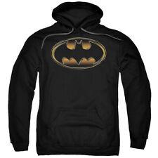The Dark Knight Rises Spray Bat Mens Pullover Hoodie Black
