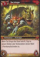 WoW - 4x Taz´dingo - Helden von Azeroth - mint