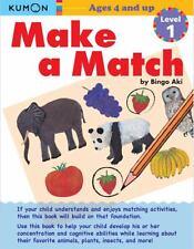 Kumon Make a Match: Level 1, Kumon Publishing, New Books