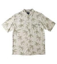 O'Neill Jack O'Neill Collection Windy S/S Button Front Woven Shirt Sz Medium