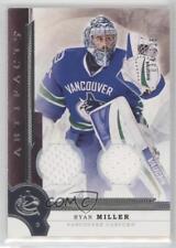 2016 Upper Deck Artifacts Materials 36 Ryan Miller Vancouver Canucks Hockey Card