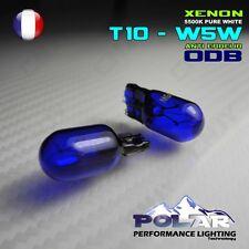 2 AMPOULE XENON T10 W5W HID ECLAIRAGE DE  PLAQUE BLANC ANTI ERREUR ODB VW GOLF 6