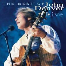 John Denver: The Best Of John Denver Live  Audio CD