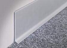 Zoccolino in alluminio adesivo satinato altezza 6-8 cm - prezzo al ml 7,96€