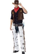 Mens Cowboy Fancy Dress Costume