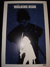 "The Walking Dead Michonne 13""x19"" poster print"