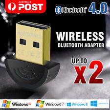 Mini Wireless USB Bluetooth Adapter V4.0 Dongle Receiver PC WIN 7 8 10 XP VISTA