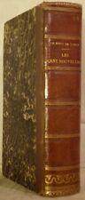 Les CENT NOUVELLES NOUVELLES Paulin 1841 bon exemplaire relié