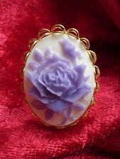 @mes * tipo @ Anello Golden con Camee ROSE кольцо anillo Halka gyürü inel пръстен