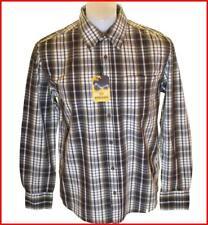 Bnwt Authentic Men's Wrangler Vintage Maverick Long Sleeve Check Shirt New
