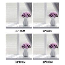 White Frosted Bedroom Bathroom Glass Window Door Privacy Film Sticker PVC 200x60
