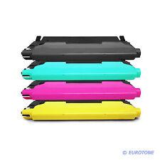 4x toner o chip per Samsung clp320 clx3180 clp325 clx3185fn clx3185 clt-4072s
