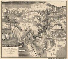 Civil War Map - Fishers Hill & Cedar Creek Battlefields - 1873 - 23 x 26.38