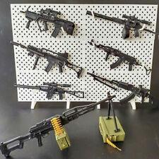 1/6 8PCS World War 2 WWII Gun Assault Rifle Machine Gun Weapon Set Action Figure