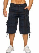 Herren Cargo Capri Shorts Adventure 2017 Jeans Bermuda Kurze Hose Short Sommer