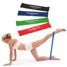 TOMSHOO® Exercise Resistance Loop Bands Latex Resistance Bands Gym Strength