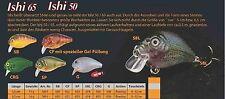 Ishi 50 DOIYO Concept Farbe: SB, G, SP, SBL, CF oder CRG   5cm Gewicht: 11g