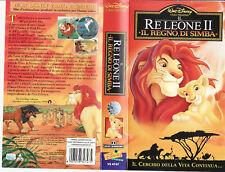 Il Re Leone II 2. Il regno di Simba (1998) VHS